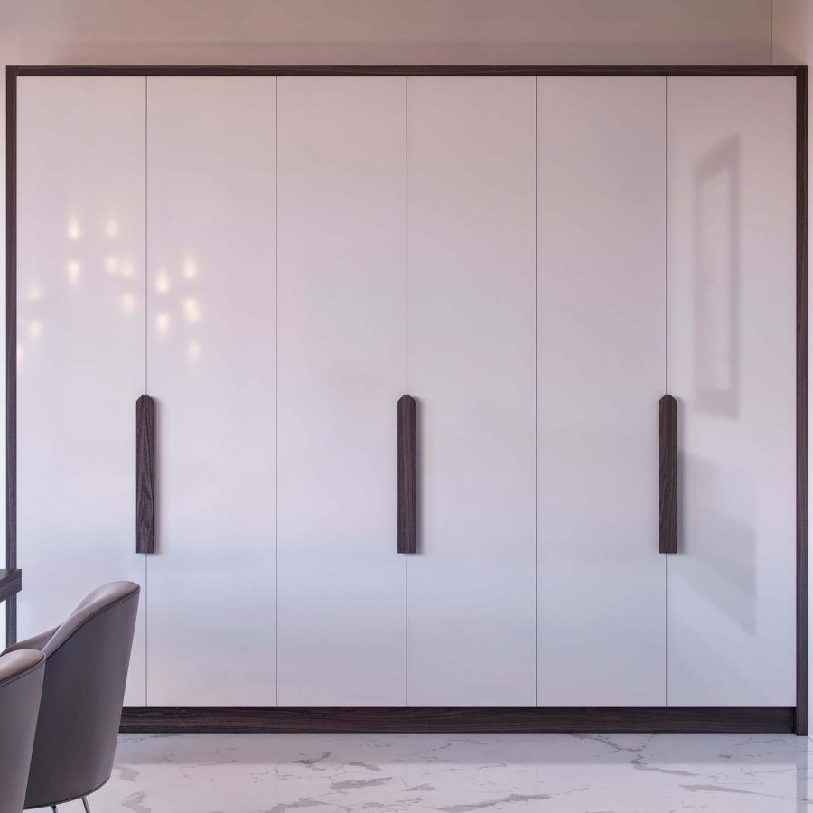 fitted Hinge Door Wardrobe piano style