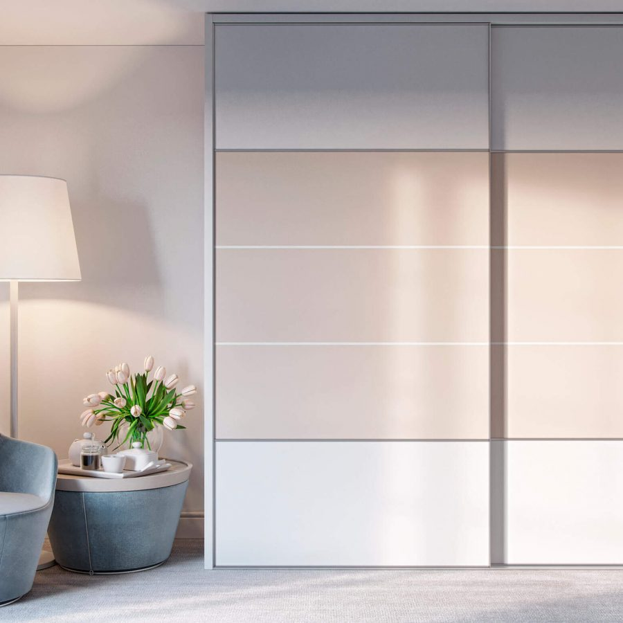 Quattro Fitted sliding door wardrobe and fitted bedroom